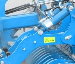 réglage hydraulique profondeur