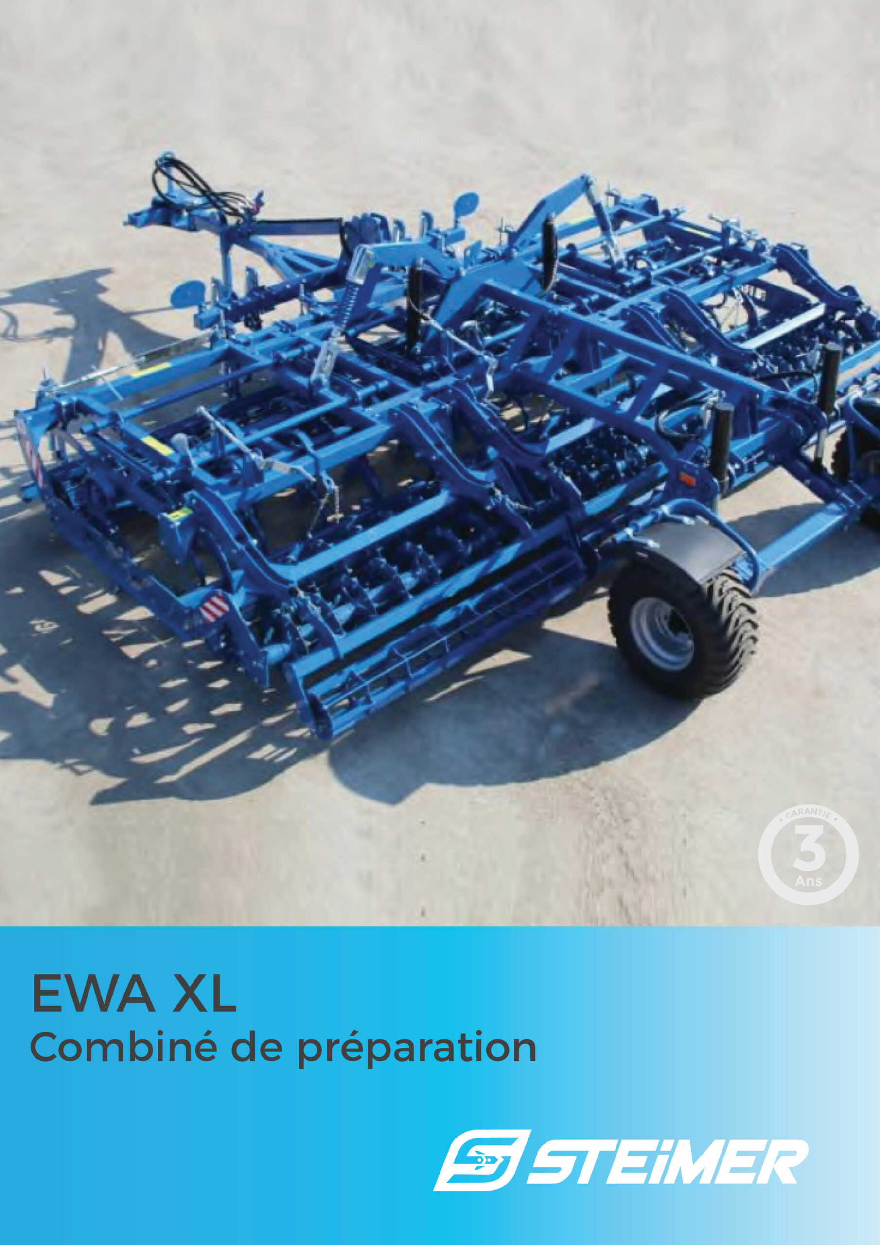 brochure ewa xl combine de préparation de sol